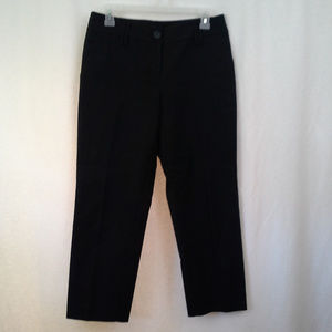 Ann Taylor Loft womens pants 4 Julie Black Short